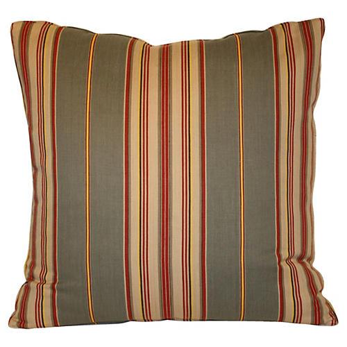 Striped Ticking Pillow