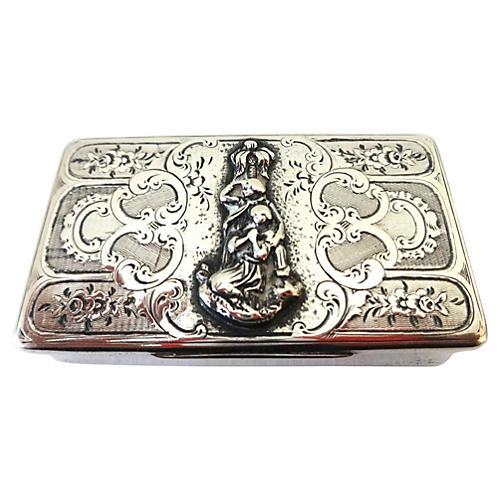 Parisian Silver Snuff Box, C.1839