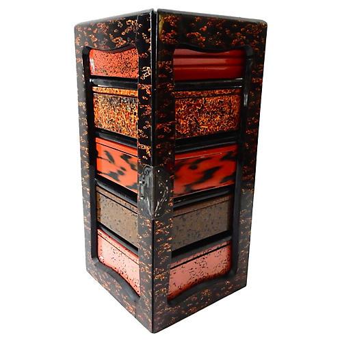 Meiji Period Japanese Picnic Box