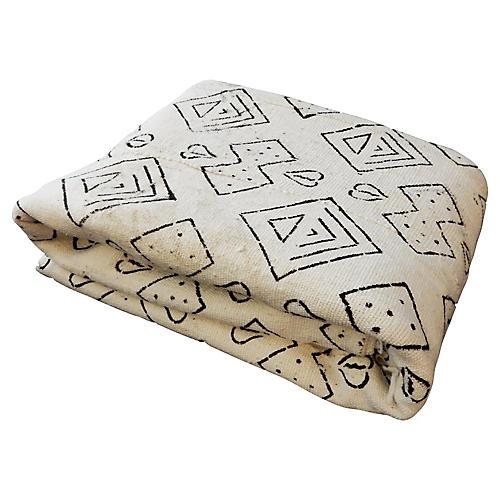Geometric Mud-Cloth Textile