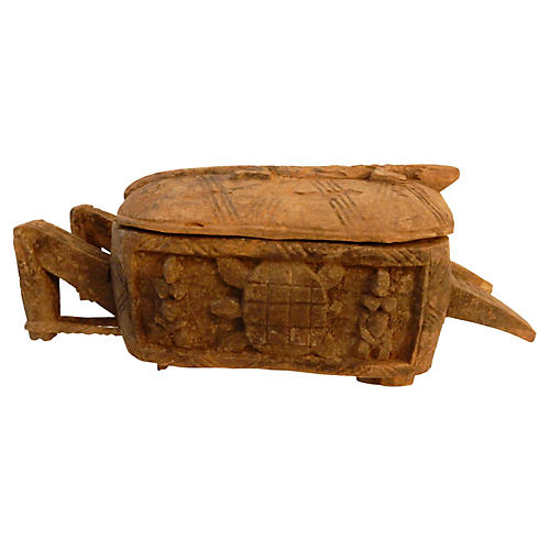 Dogon Wood Ceremonial Box