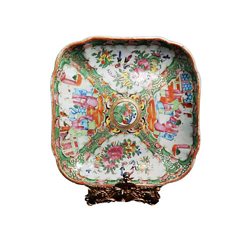 19th c Chinese Export Platter