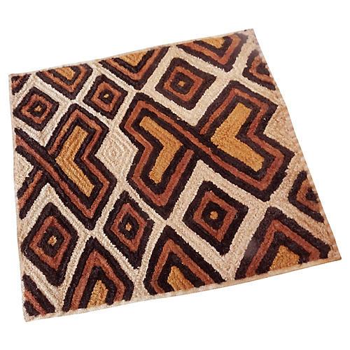 Kuba Kasai Velvet Raffia Textile Zaire
