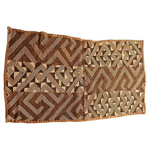 African Kuba Kasai Velvet Textile