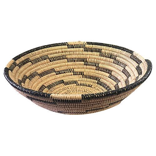 Senegalese Wolof Woven Basket