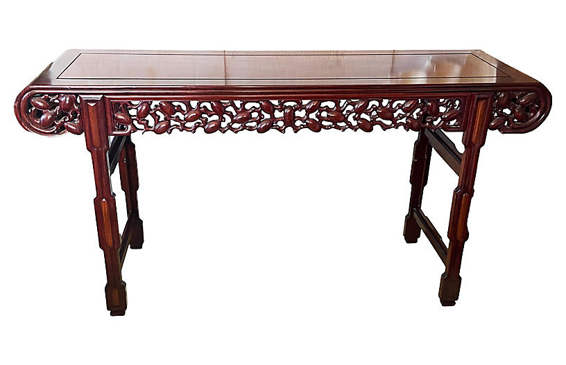 Huanghuali & Zitan Console Table