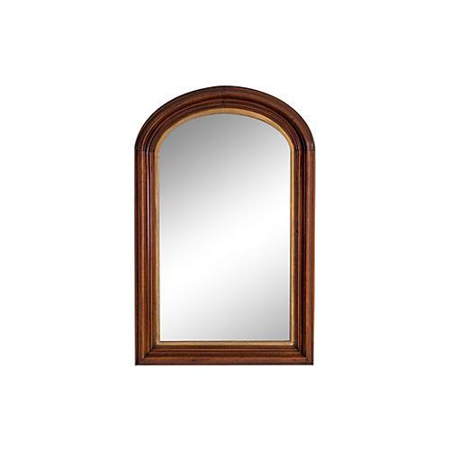 Antique Arched Mirror w Gilding