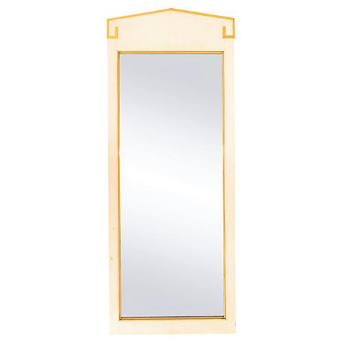 Gilded Greek Key Mirror