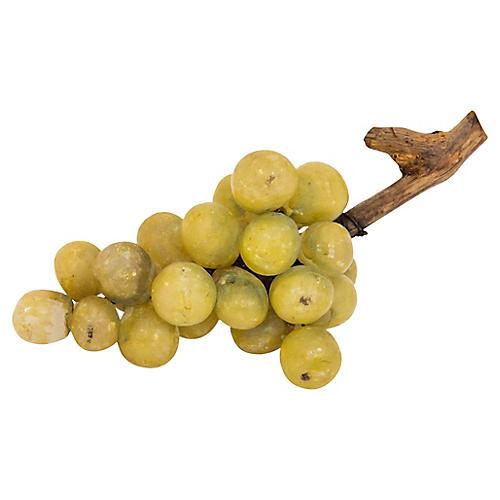 Mid-Century Italian Alabaster Grapes