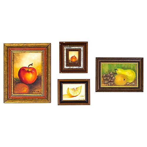 Fruit Still Lifes, S/4