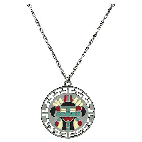 Native American-Style Pendant Necklace