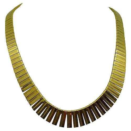 Napier Graduated Flat Link Necklace
