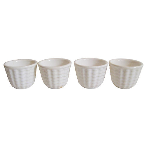 1930s Gladding McBean Custard Cups, S/4