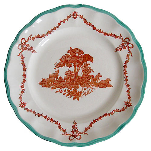 19th-C. Copeland Spode Plate