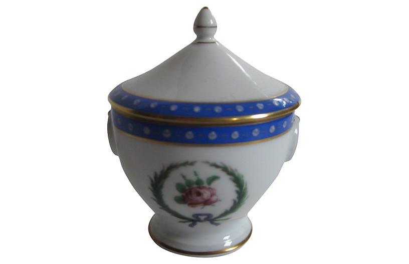 Ginori Italian Porcelain Sugar Bowl