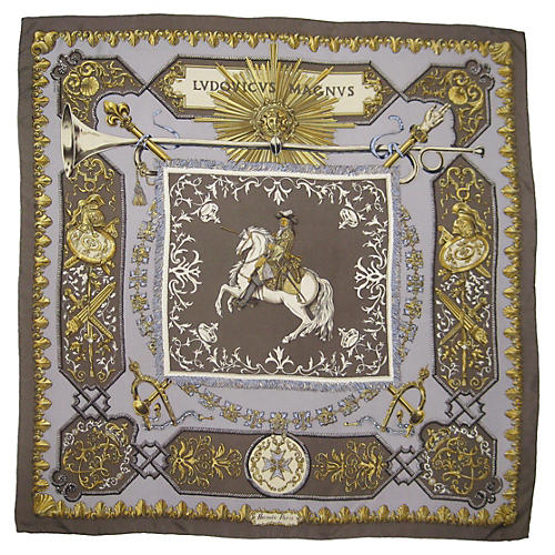 Hermès Ludovicus Magnus Scarf