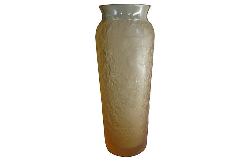 Lalique Bougainvillier Vase