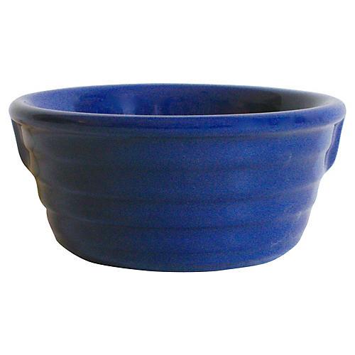 1930s Gladding McBean Pinch-Handled Bowl