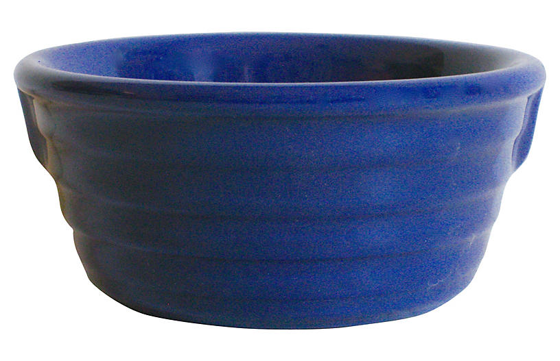 1930s Gladding McBean Pinch-Handled Bowl