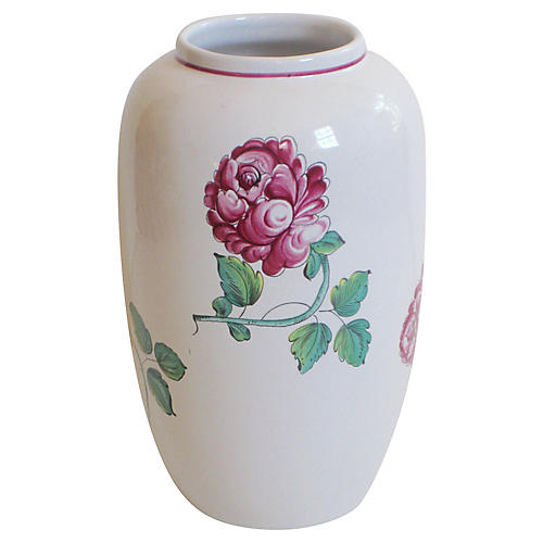Tiffany & Co. Faience Vase