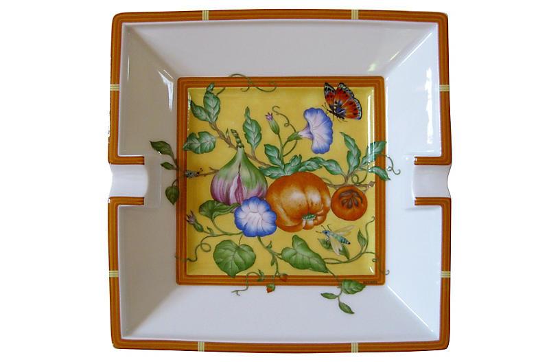 Hermès Butterfly Ashtray w/Box