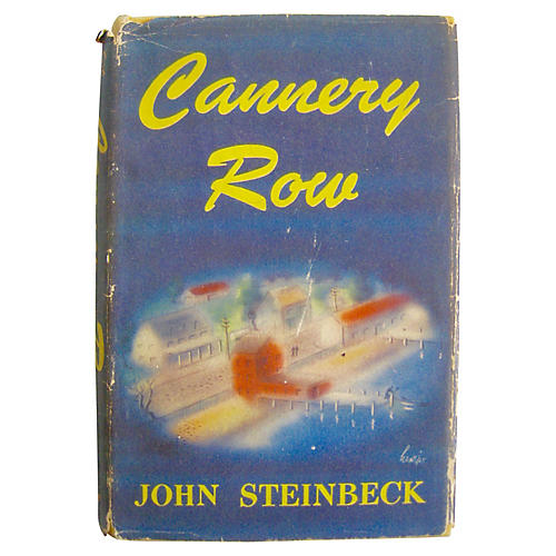 Cannery Row by John Steinbeck, 1st Ed