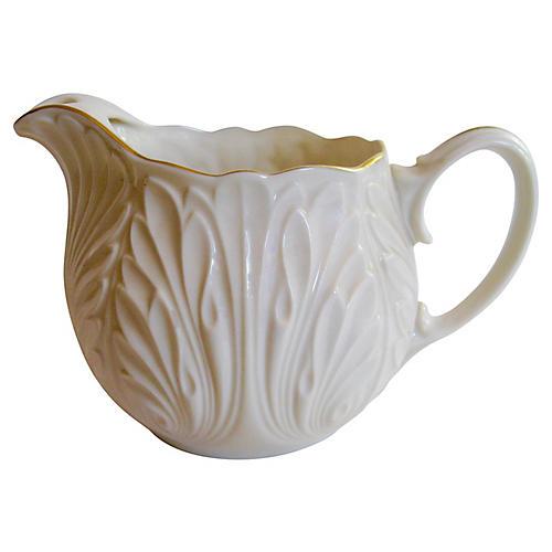 American Gilt Porcelain Pitcher