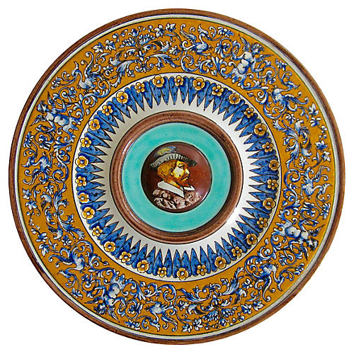 French Armorial Plate