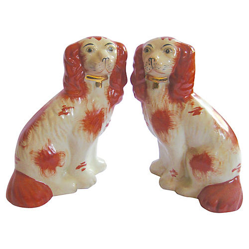 Staffordshire-Style Dogs, Pair
