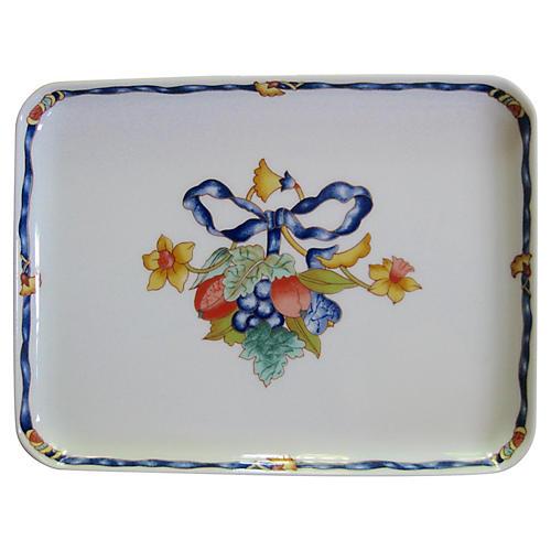 Bernardaud Limoges French Porcelain Tray