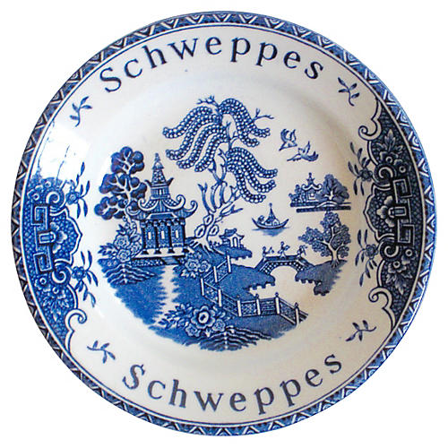 Schweppes English Staffordshire Pub Tray