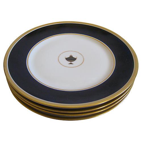 Ginori Italian Porcelain Plates, S/4