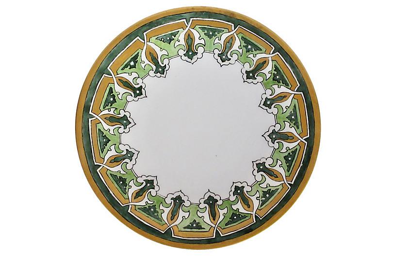 French Limoges Porcelain Plate - Decorative Kitchenware