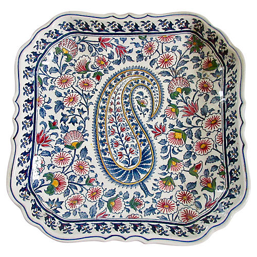 Gien Faience Tray