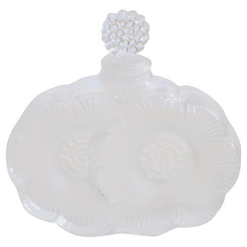 Lalique Double Dahlia Perfume Bottle