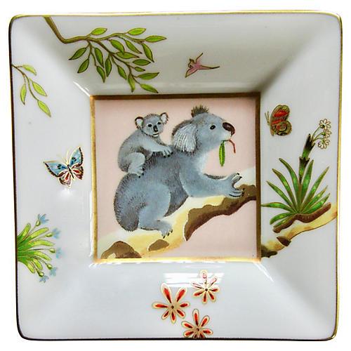 Hermès-Style French Koala Tray