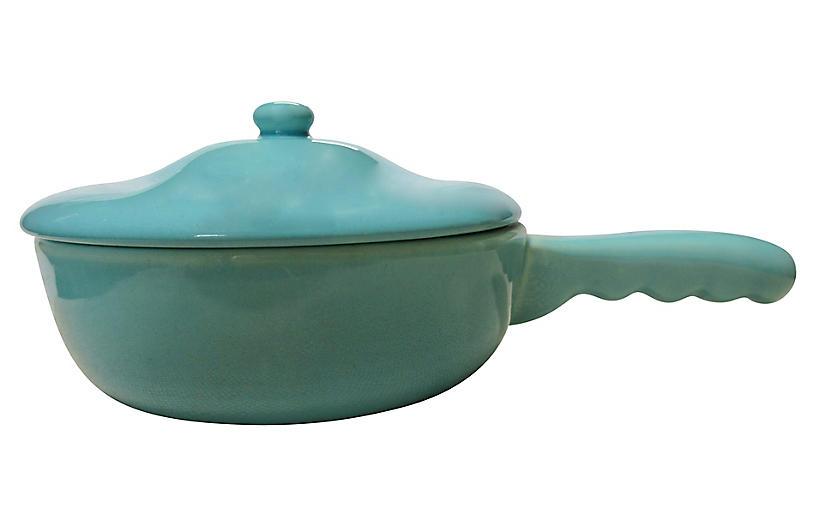 1930s California Pottery Casserole