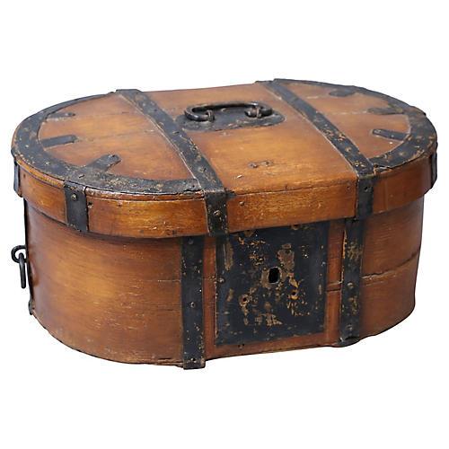 19th-C. Swedish Box