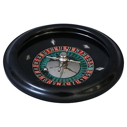 French Bakelite Roulette Wheel
