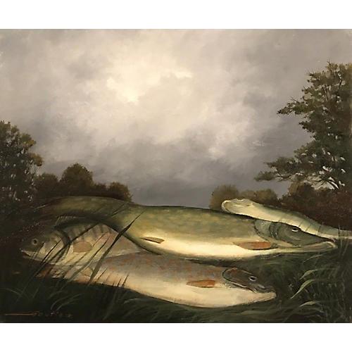Pike & Perch Fish by Pierre Gautiez