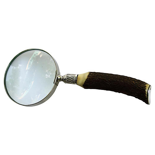 1905 Sterling & Antler Magnifying Glass