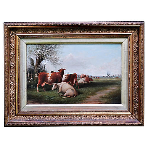 Cattle Landscape by J.T. Burgess