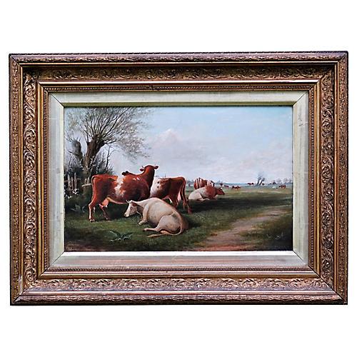 Cattle Landscape by J.T. Burgess