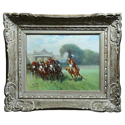 Horse Racing Oil, E Pechaubes