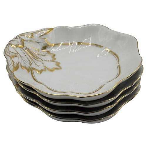 Old Paris Porcelain Bowls, S/4
