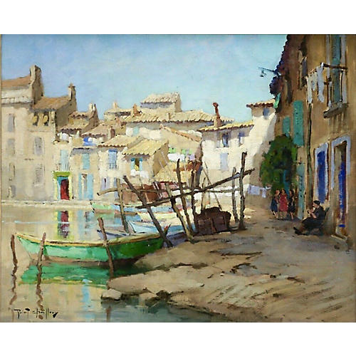 Chailloux Impressionist Oil Painting