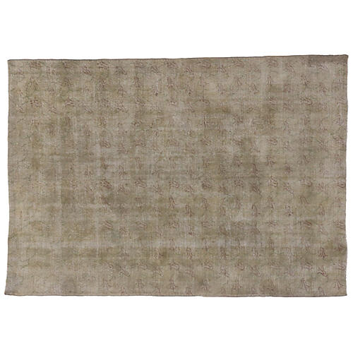 Distressed Turkish Rug, 6'11 x 9'10