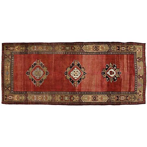 Turkish Oushak Gallery Rug - 5'5 x 12'