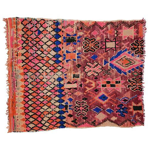 """Moroccan Berber Rug, 5'4""""x6'2"""""""