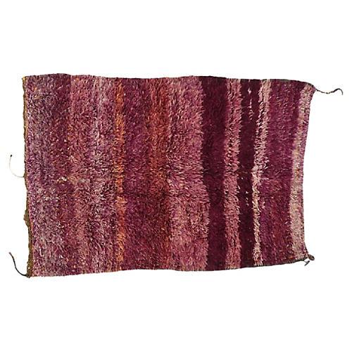 """Moroccan Berber Rug, 5'9"""" x 8'3"""""""